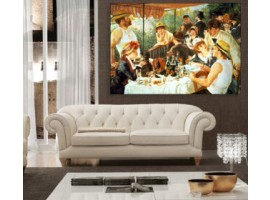 La colazione dei canottieri - Renoir (ambientazione)