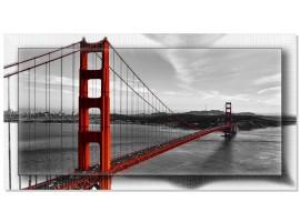 Quadro in tela con cornice Golden Gate Bridge