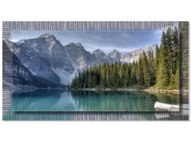 Quadro in tela con cornice Alaska Argento