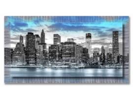 Quadro in tela con cornice Panoramic City