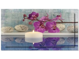 Quadro in tela con cornice Zen