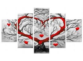 Albero dell'Amore (five in tela)