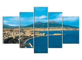 Napoli di giorno (five in tela)