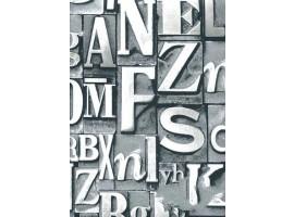 Lettere tipografiche Grey