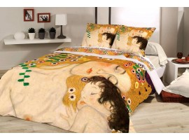 Completo copripiumino La Madre - Klimt