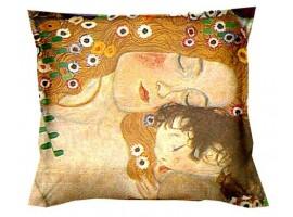 cuscino klimt la madre
