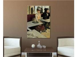 L'assenzio - Degas ambientazione