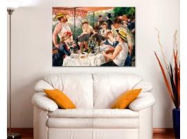 La colazione dei canottieri - Renoire ambientazione