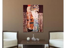Le tre età - Klimt ambientazione