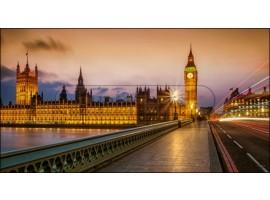 Londra Brown | Quadro Londra su tela