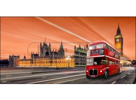 Bus Brown | Quadro di Londra alta qualità