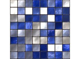 paraschizzi adesivo Mosaico blu
