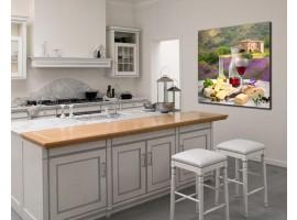 Quadro per cucina (amb.) | Sapori e lavanda