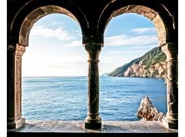 quadro effetto archi sul mare