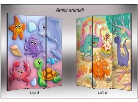 Animali | Separè paravento divisorio di alta qualità