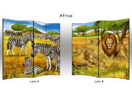 Paravento Africa