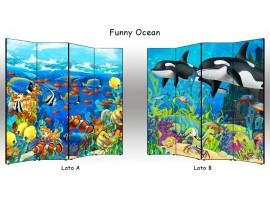 Paravento Funny Ocean