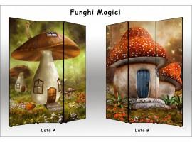 Funghi Magici | Separè paravento divisorio di alta qualità