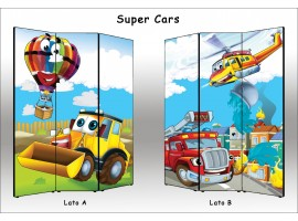 Super Cars | Separè paravento divisorio di alta qualità