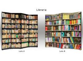 Paravento Librerie