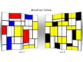 Paravento Mondrian Yellow