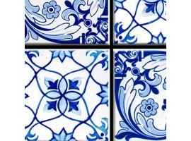 Azulejos blue 1