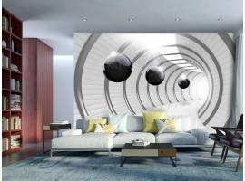 fotomurale tunnel verso il futuro amb