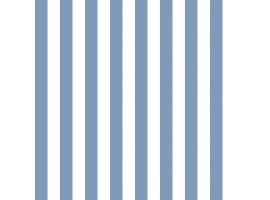 Carta da parati a righe blu e bianco