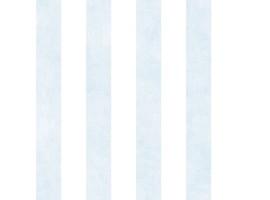 Carta da parati a righe azzurre e bianche lino