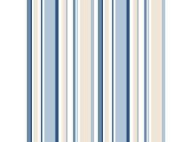 Carta da parati a righe tonalità Azzurro