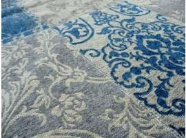 Dettaglio tappeto Kilim Azzurro