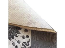 tappeto maiolica vintage grigio