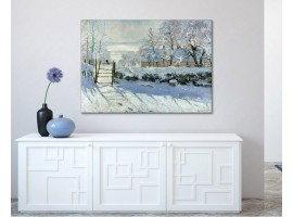 The Magpie | Monet ambientazione
