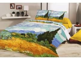 Completo copripiumino Campo di Grano - Van Gogh