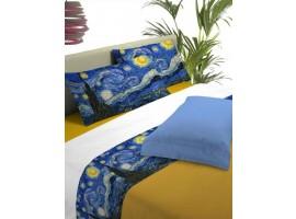 Completo lenzuola Notte Stellata - Van Gogh