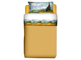 Completo lenzuola Campo di Grano - Van Gogh