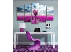 Albero Solitario violet (five)