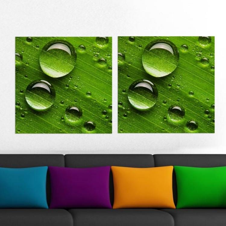 Adesivo murale Panoramico - Green S
