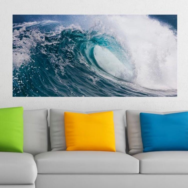 Adesivo murale Panoramico - Water Power