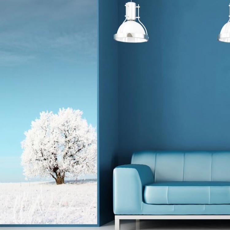 Adesivo murale Panoramico - Neve