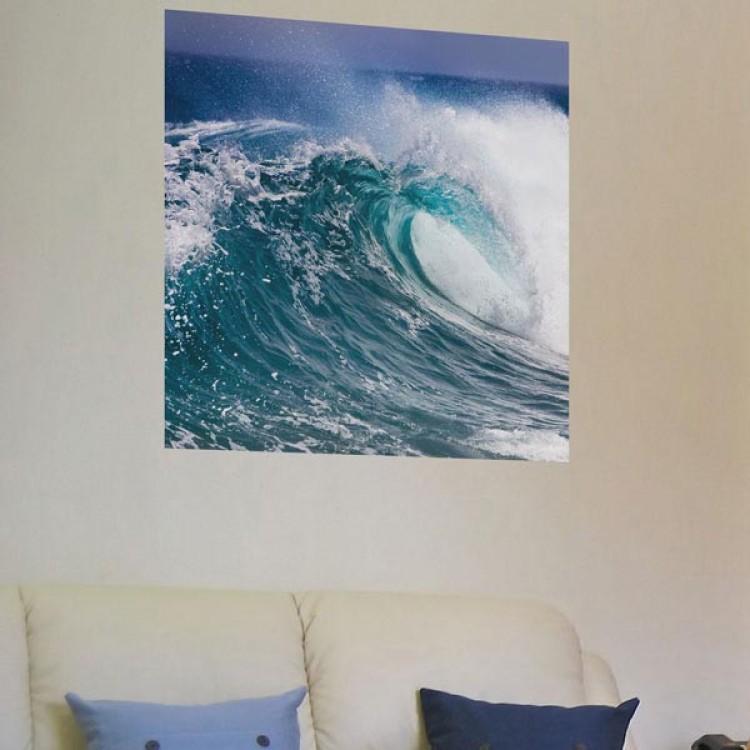 Adesivo murale Panoramico - Water Power  S