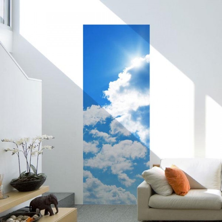 Adesivo murale Panoramico - Nuvole