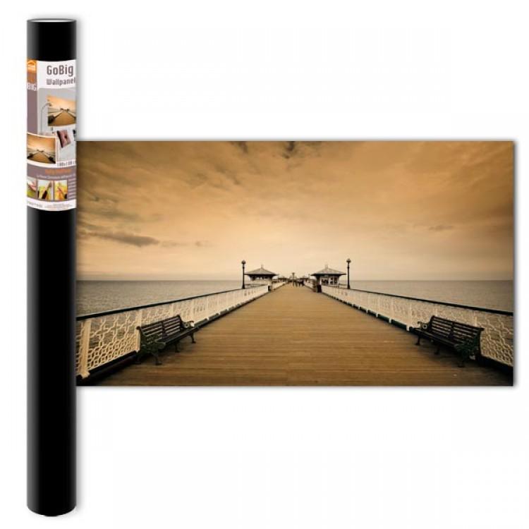 Adesivo murale Panoramico - Molo M (confezione)