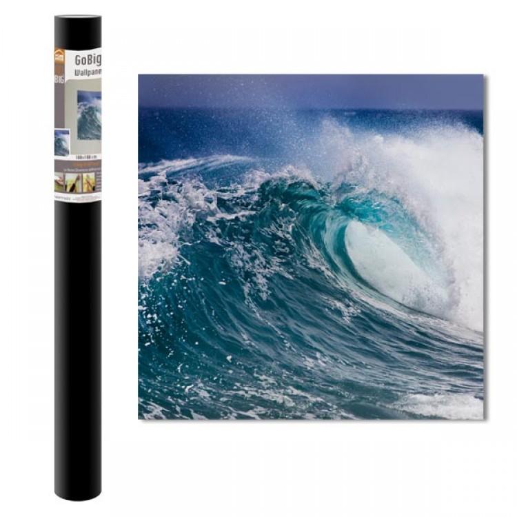 Adesivo murale Panoramico - Water Power (confezione)