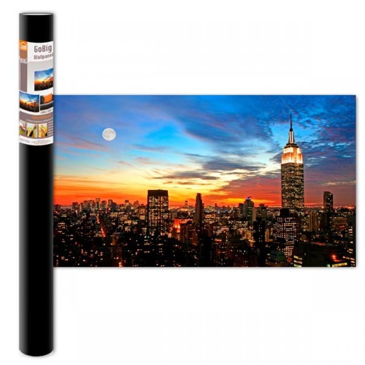 Adesivo murale Panoramico - Metropolis M (confezione)