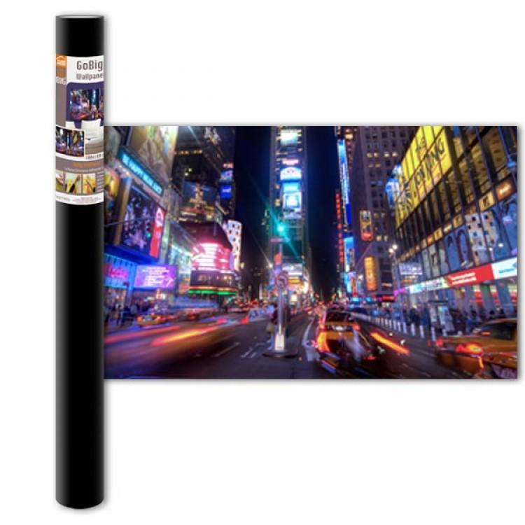 Adesivo murale Panoramico - City Life M (confezione)