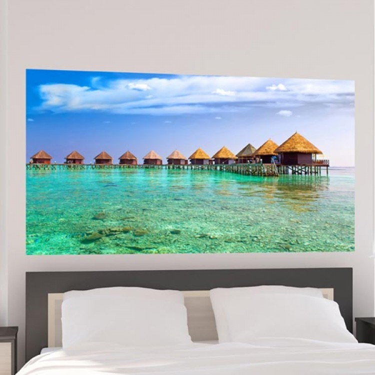 Adesivo murale Panoramico - Paradiso