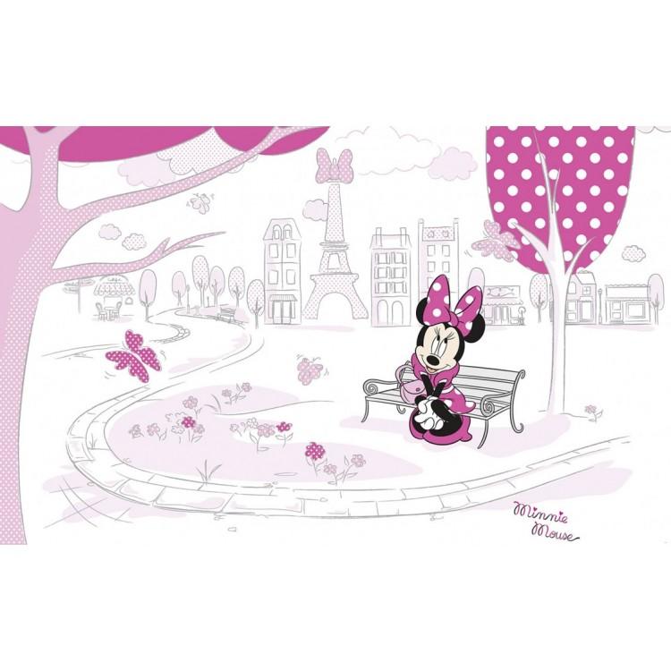 fotomurale principesse Minnie a Parigi TNT