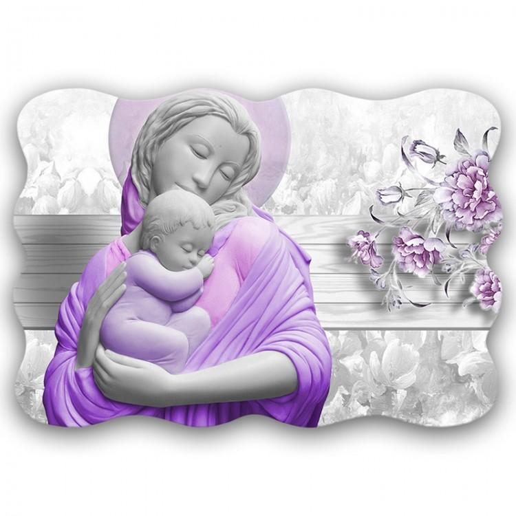 quadro sacro Maternity Marble Flower