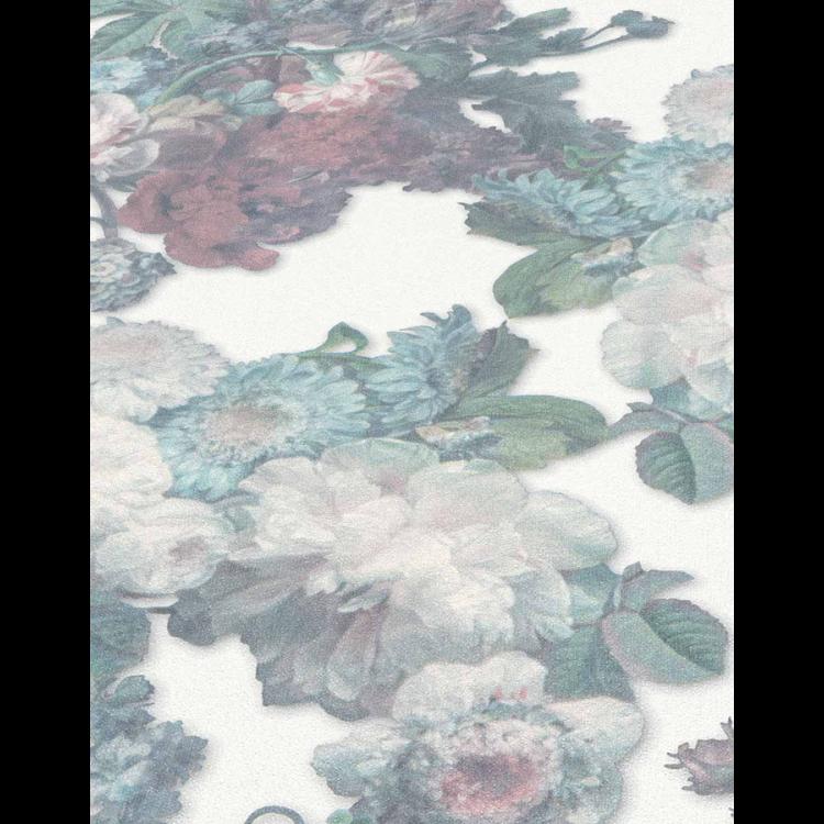 Carta da parati Roses glitter